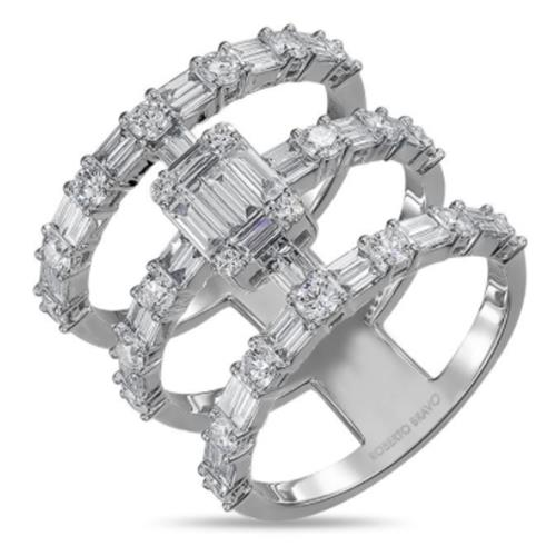 Baguette Collection Diamond Ring