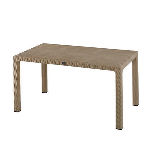 Begonya Table With Plastic Leg ( 90*150 )