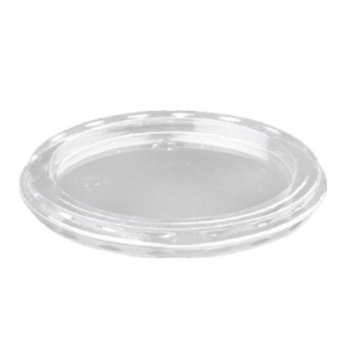 Ø75 Transparent PVC Flat Sauce Flat Lid