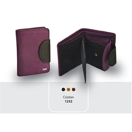 Guard Brand Leather Women's Wallet  - Width; 9cm Height; 12,5cm