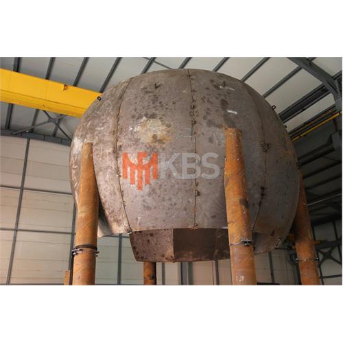 Spherical Tank for Propane, Butane, Lpg, Ethylene Store Accordance with AD-2000 Merkblatt, ASME U2