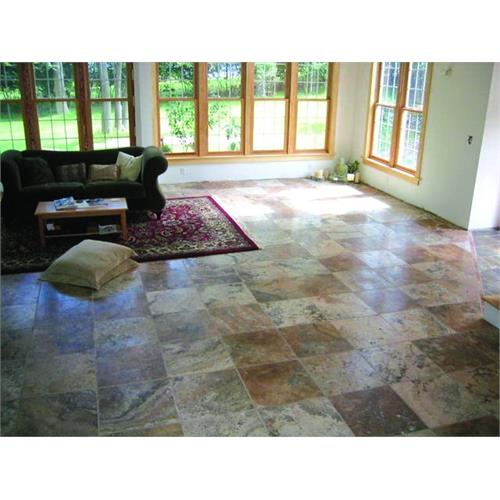 Scabos Marble Floor Application