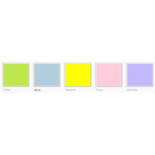 Filli Boya Vital Water Based Furniture Paints - Color Scheme