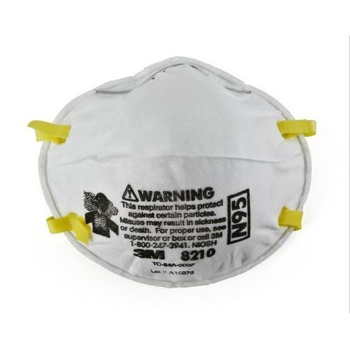 3M 8210 and 3M 1860 model N95 mask made in USA