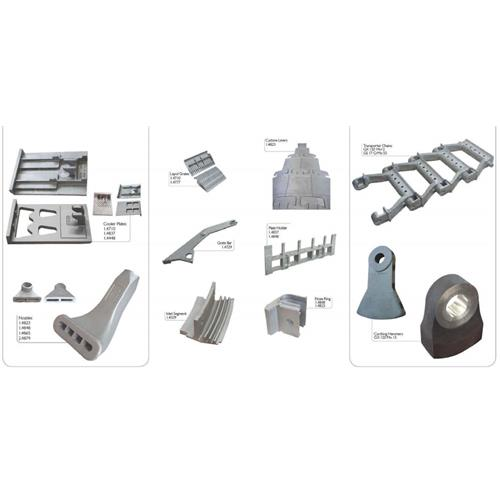 Cooler Plates, Nozzles, Lepol Grates, Curshing Hammers - Cement Industry Steel Spare Parts