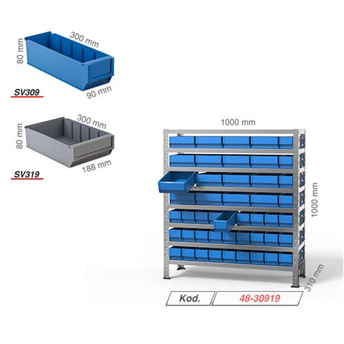Stacking and stroge bin stands - Stacking bin stands